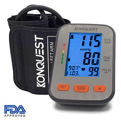 Conquest KBP- 2704A Automatic Upper Arm Blood Pressure Monitor