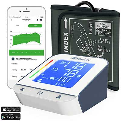 Blood Pressure Monitor – High Accuracy Automatic Upper Arm Premium Machine