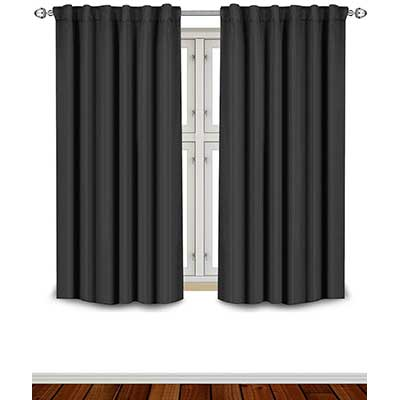 Utopia Bedding Blackout Room Darkening and Thermal Insulating Window Curtains