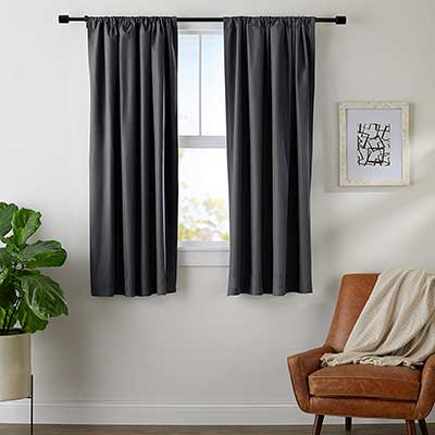 AmazonBasics Windows Blackout Curtain Set