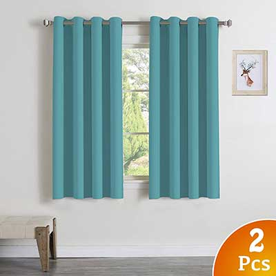 Turquoize Ultra Soft Blackout Curtains Panels