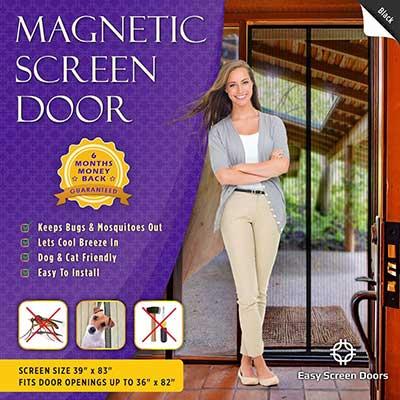 Magnetic Screen Door, Mesh Curtain by Easy Screen Doors