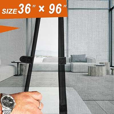 Magnetic Screen Doors 36 x 96, Mosquito Patio Screens Door Mesh
