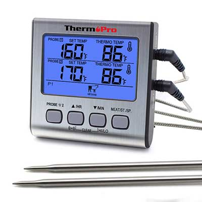 ThermoPro Dual Probe Digital Cooking Meat Thermometer