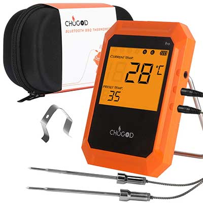 BBQ Meat Thermometer, Bluetooth Remote Cooking Thermometer