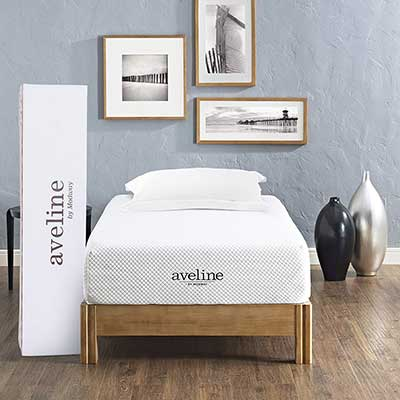 Modway Aveline 10-Inch Infused Memory Foam Twin Mattress