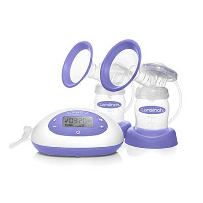 Signature Pro by Lansinoh Double Electric Breast Pump with LCD screen