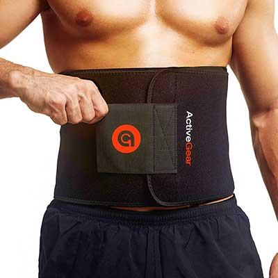 ActiveGear Waist Trimmer Belt Slim Body Sweat Wrap