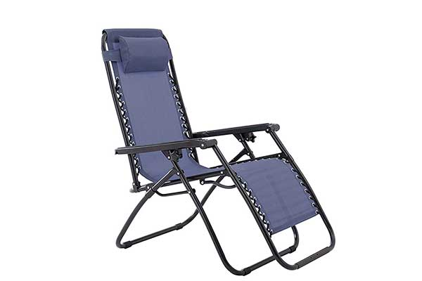 Zero Gravity Blue Chair