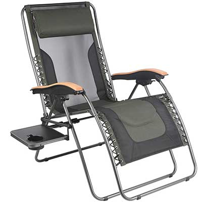 PORTAL Oversized Mesh Back Zero Gravity Recliner Chairs