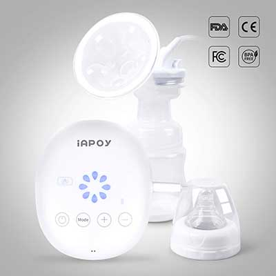 Electric Breast Pump by Iapoy