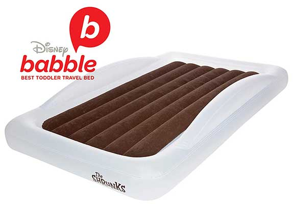 The Shrunks Toddler Travel Bed Portable