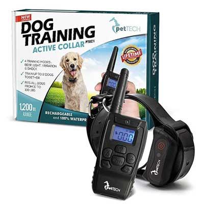 PetTech PT0Z1 Premium Dog Training Shock Collar