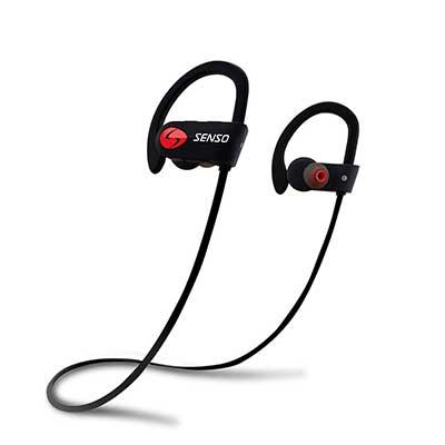 SENSO Bluetooth Headphones, Best Wireless Sports Earphones