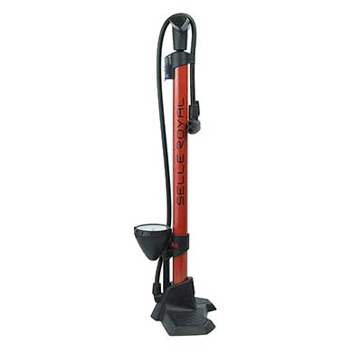 Selle Royal Scirocco Bike Floor Pump with Over-sized Gauge
