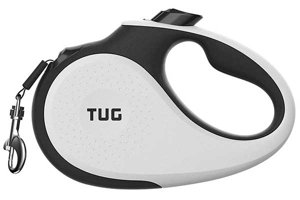 TUG Patented 360 degrees Tangle-Free Heavy Duty Retractable Dog Leash