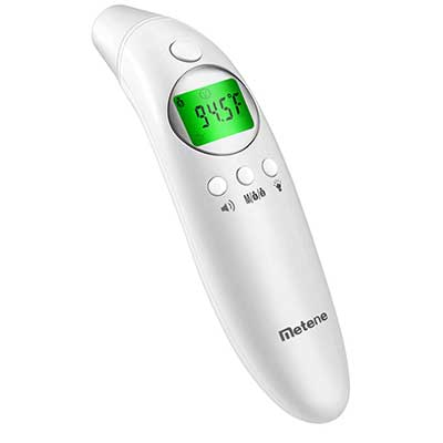 Metene Digital Forehead and Ear Thermometer