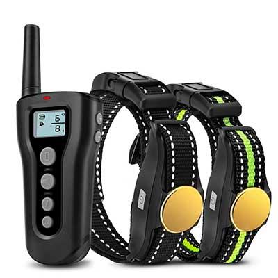 Bousnic Dog Training Collar 2 Dogs
