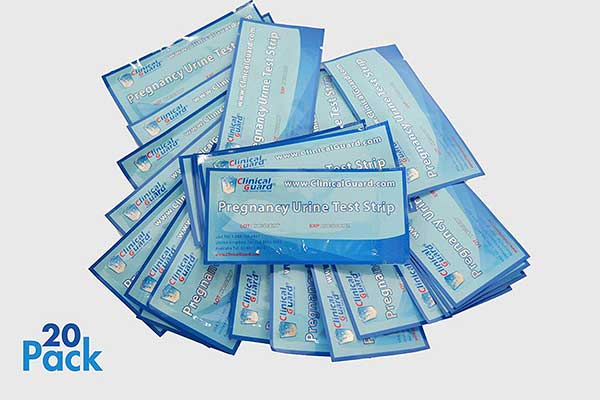 ClinicalGuard HCG Pregnancy Test Strips