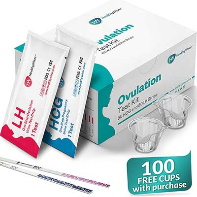 Pregnancy Test Kit, 50 Ovulation and 50 Pregnancy Test Strips