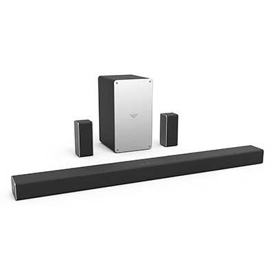 VIZIO SB3651-F6 36-Inch 5.1 Home Theater Sound Bar System, Black