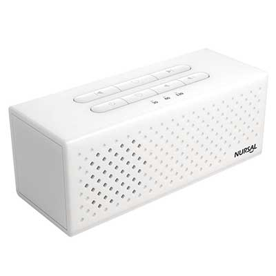 NURSAL White Noise Machine Sound Machine for Sleeping and Relaxation