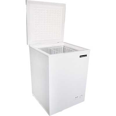 3.5 Cubic Feet Chest Freezer in White