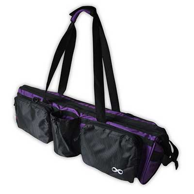 YogaAddict Yoga Mat Tote Gym Bag Supreme with Pocket and Zipper