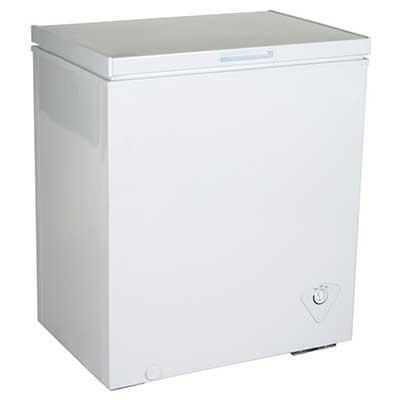 Koolatron KTCF155 5.0 Cubic Feet Chest Freezer, White
