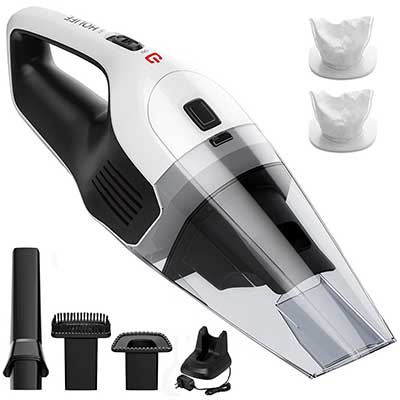 HoLife Handheld Vacuum Cordless, Rechargeable Hand Vacuum Cleaner