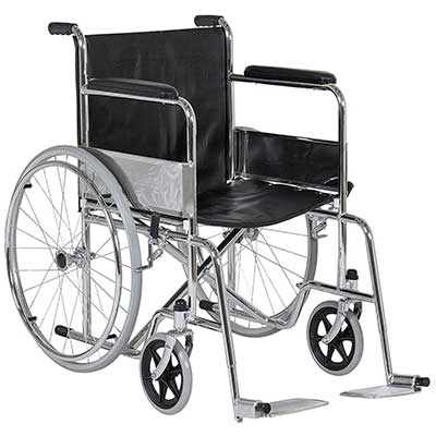 Best Choice Products 24Inch Lightweight Folding Wheelchair