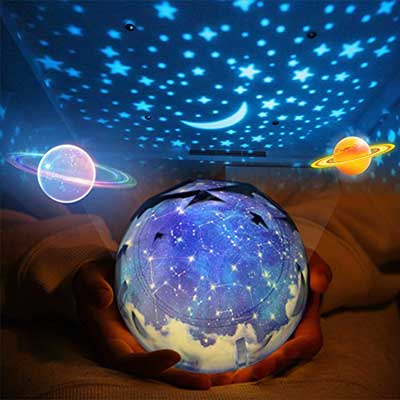 Star Night Light for Kids, Universe Night Light Projection Lamp