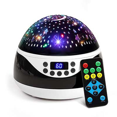 2019 Newest Baby Night Light, AnanBros Remote Control Star