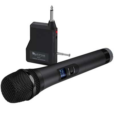 Wireless Microphone, FIFINE Handheld Dynamic Microphone Wireless
