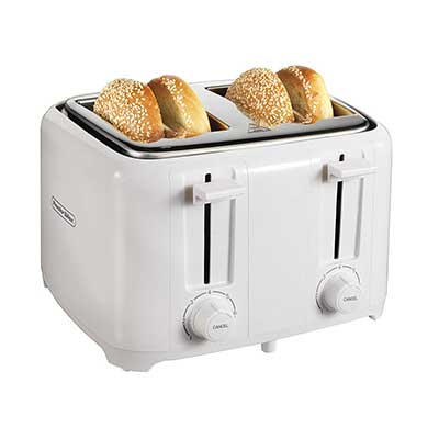 Proctor Silex 24216 Toaster with Wide Slots and Toast Boost