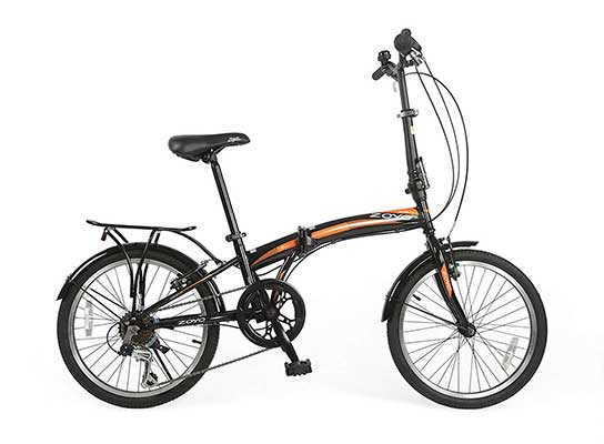 ZOYO 20-Inch Folding Bikes for Adults 7-Speed Gears