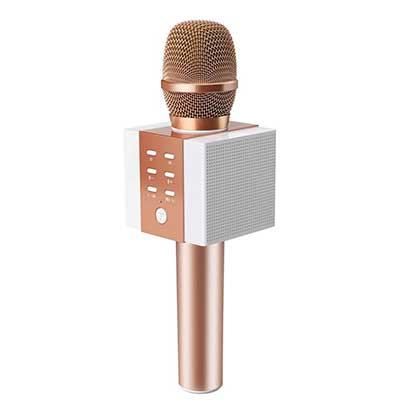 TOSING 008 Wireless Bluetooth Karaoke Microphone, Louder Volume