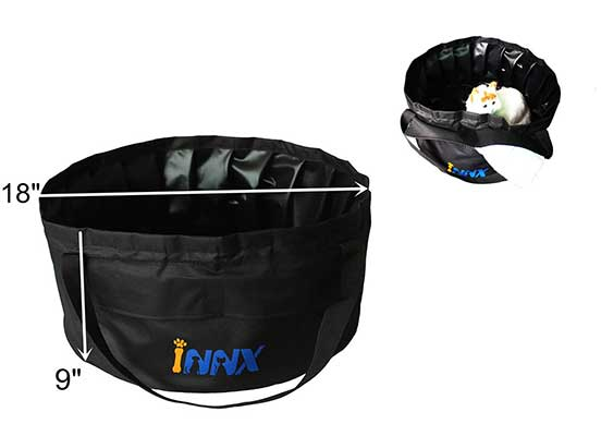 INNX Swimming Pool for Puppy Portable Pet Bath Tub