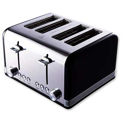 Gohyo 4 Slice Toaster