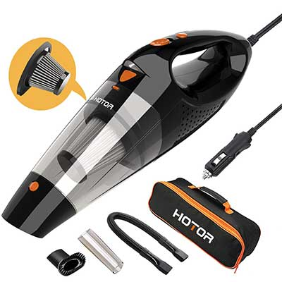 HOTOR CAR Vacuum Cleaner High Power, Vacuum Cleaner for Car