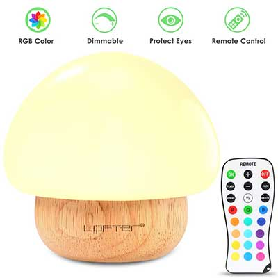 Baby Nigh Light, Mushroom Kids Child Night Lights