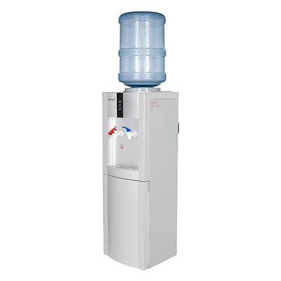 ROVSUN Top Loading Water Cooler Dispenser Stand with Hot and Cold Drinking Water