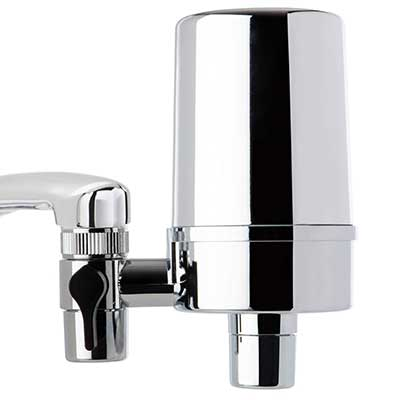iSpring DF2-CHR Faucet Mount Water Filter