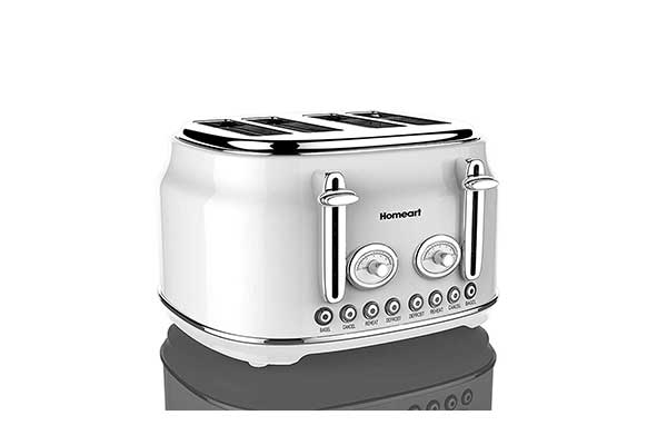 Artisan 4 Slot Toaster by Homeart