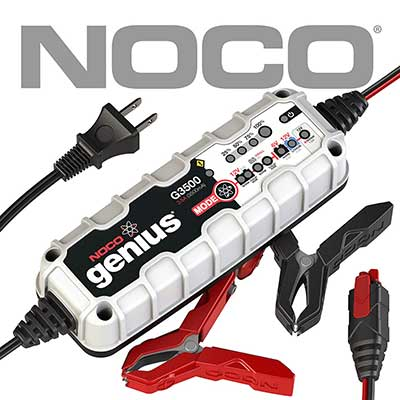 NOCO Genius G3500 6V/12/ 3.5 Amp Battery Charger and Maintainer