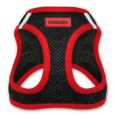 Voyager All-Weather No Pull Step-in Mesh Dog Harness Padded Vest