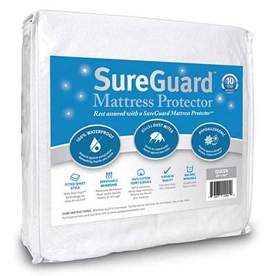 SureGuard Mattress Protectors Queen Size