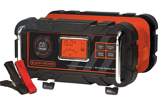 BLACK + DECKER BC15BD Fully Automatic 15 Amp 1V Bench Battery Charger