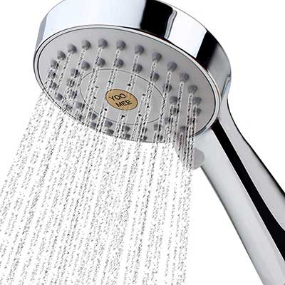 YOO.ME High-Pressure Handheld Shower Head with Powerful Shower Spray
