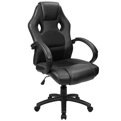 Furmax Office Chair Desk Leather Gaming Chair
